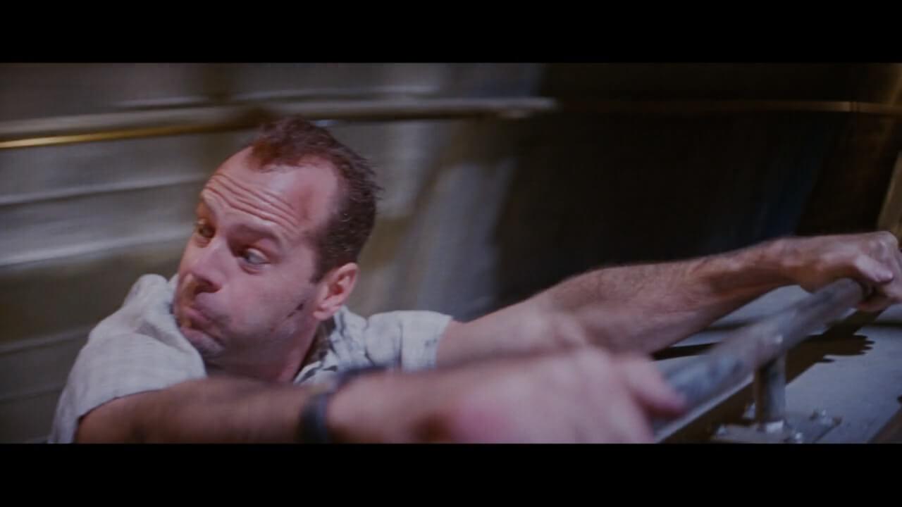 『ダイハード3』でも主人公・マクレーンを演じるブルース・ウィリス。