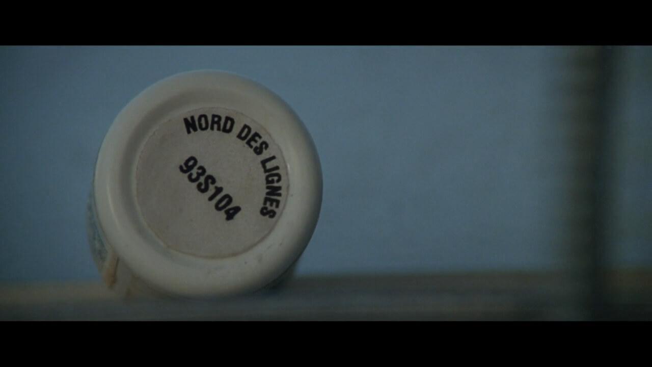 『ダイハード3』にてアスピリンの容器の外に記載されたドラッグストアの住所。