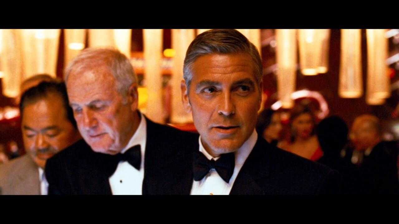『オーシャンズ13』にて「オーシャンズ」を束ねるリーダー、ダニー。演じるのはジョージ・クルーニー。