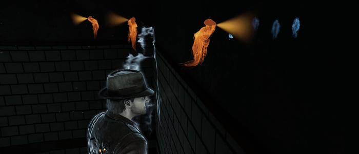 悪魔を除霊するアクションゲーム的な面も。内容は単調。
