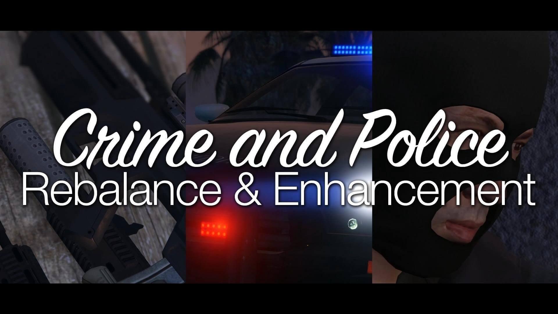 理不尽な手配システムを刷新するMod『Crime and Police Rebalance & Enhancement』。