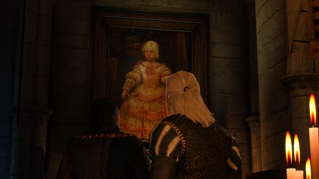 シリの肖像画。