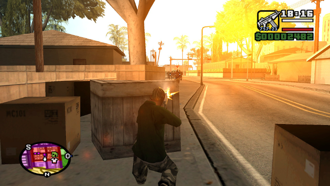 Grand Theft Auto: San Andreas – 進化 (1)