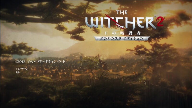 The Witcher 2 – 前作との繋がりが濃い続編 (1)