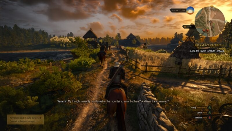 The Witcher 3 – 妙に重い (1)