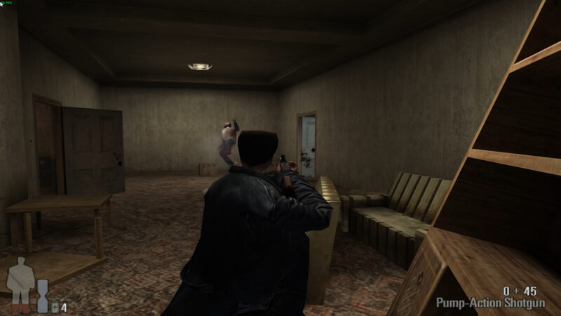 Max Payne – ショットガン、強い (4)