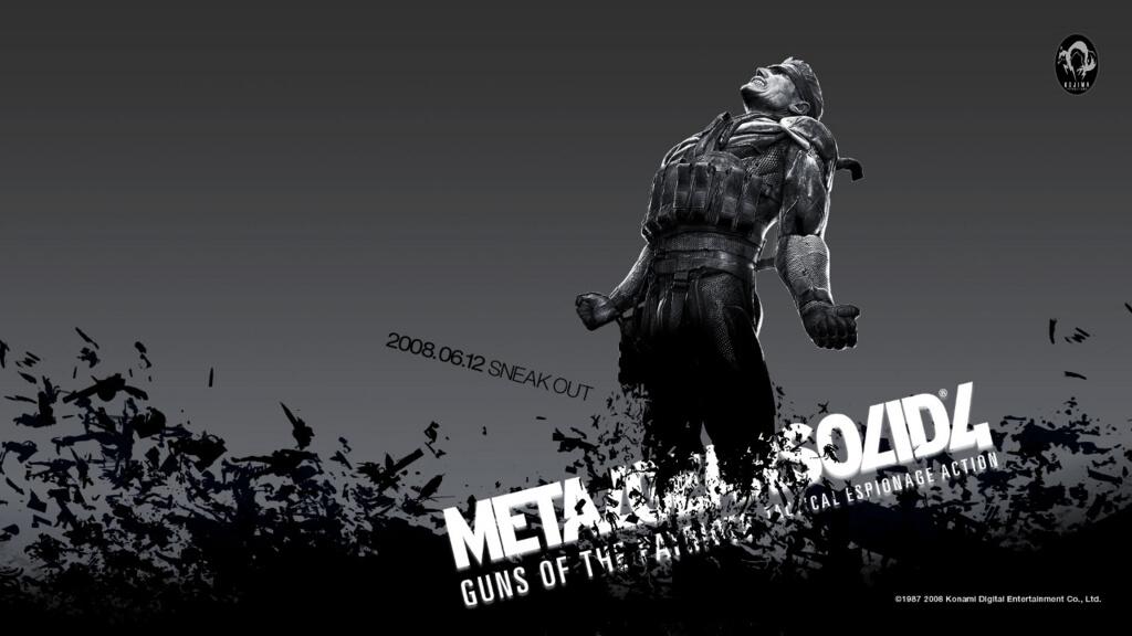 METAL GEAR SOLID 4(メタルギアソリッド4)【感想 評価 批評  レビュー】