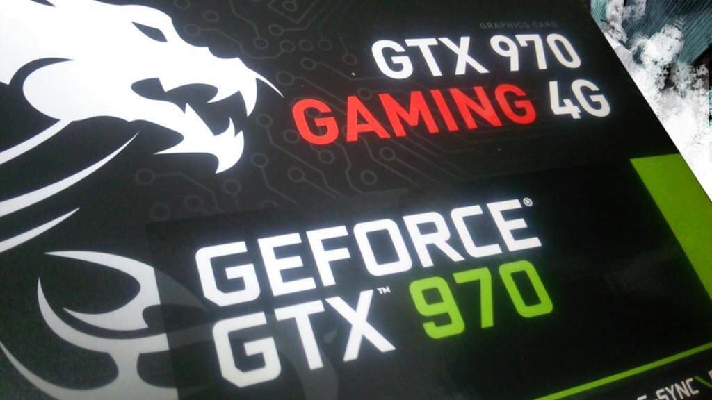 MSI GTX 970 GAMING 4Gを購入