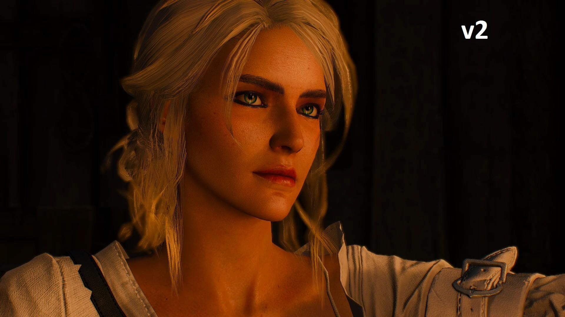 Ciri Face 4k Retextures New Makeup