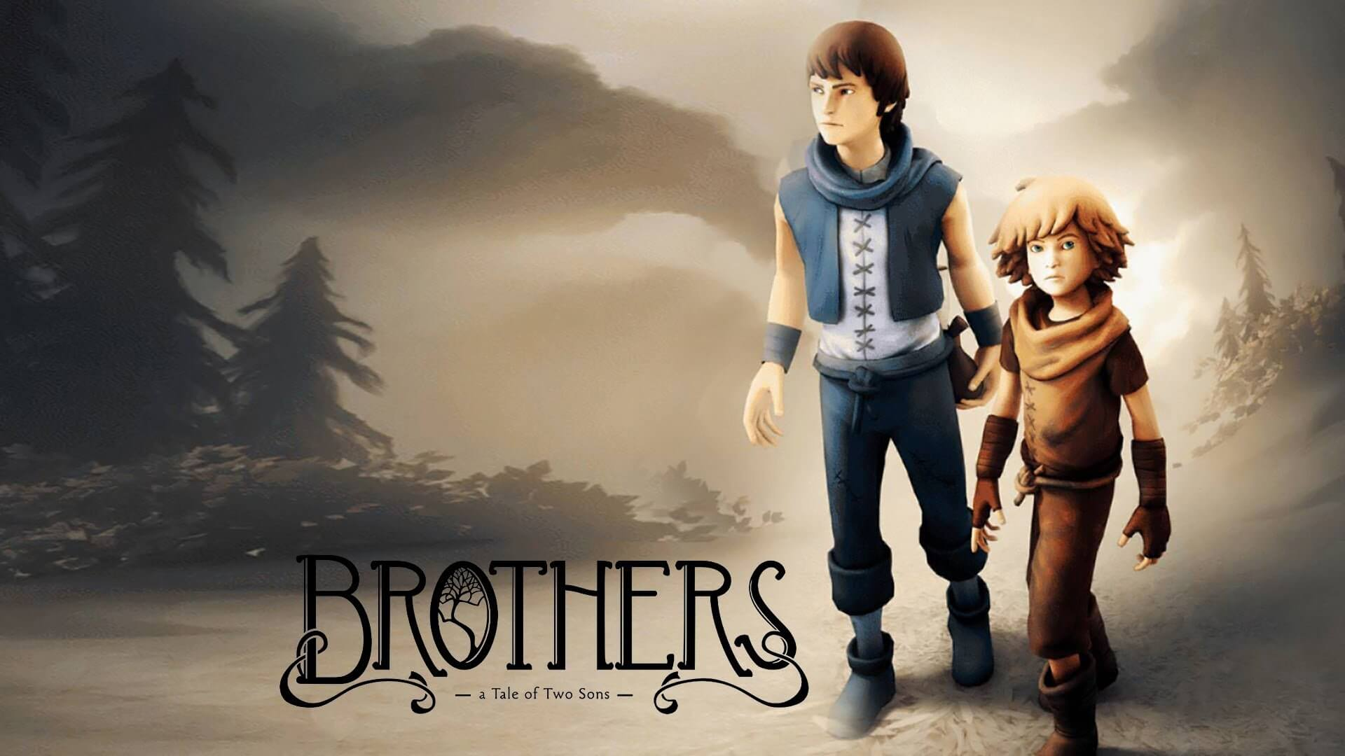 Brothers – A Tale of Two Sons のボックスアート。