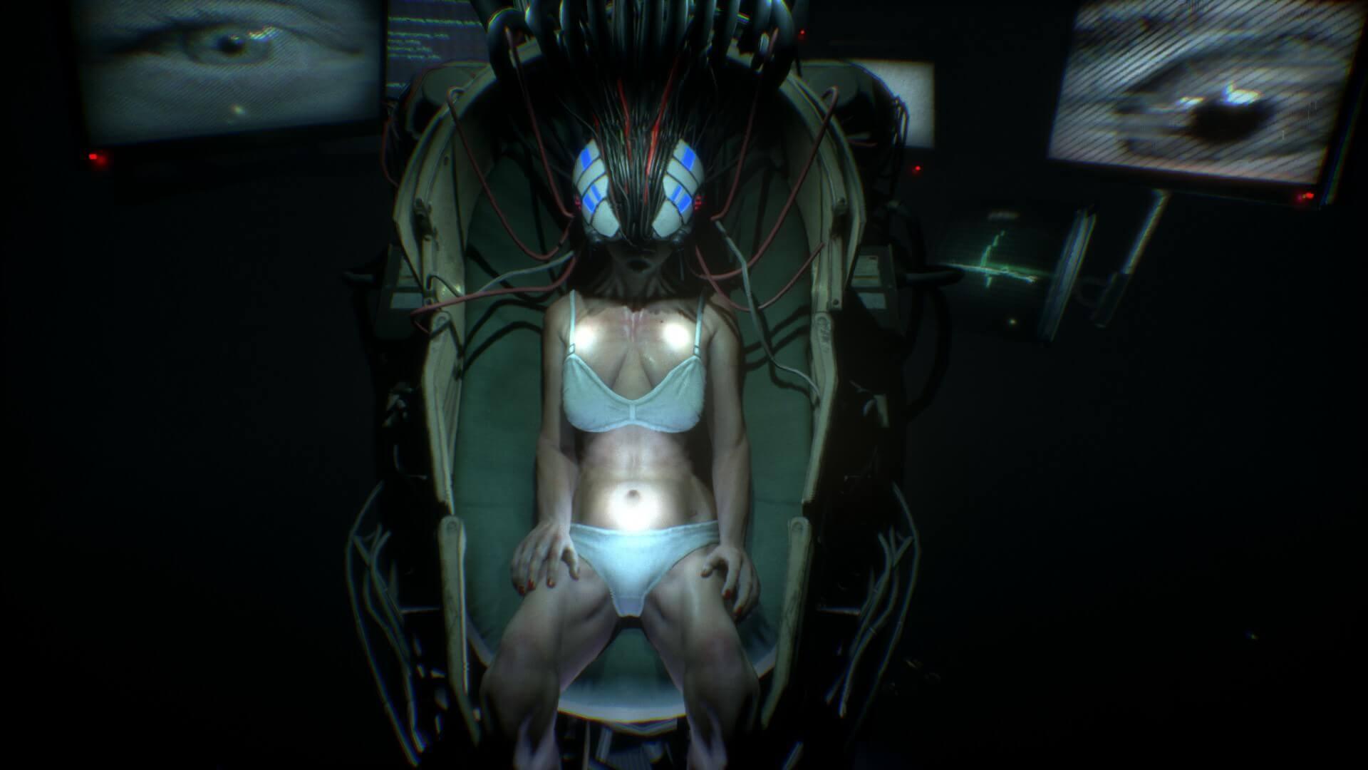 肉体は死んだが、脳内だけはネット接続された女性。