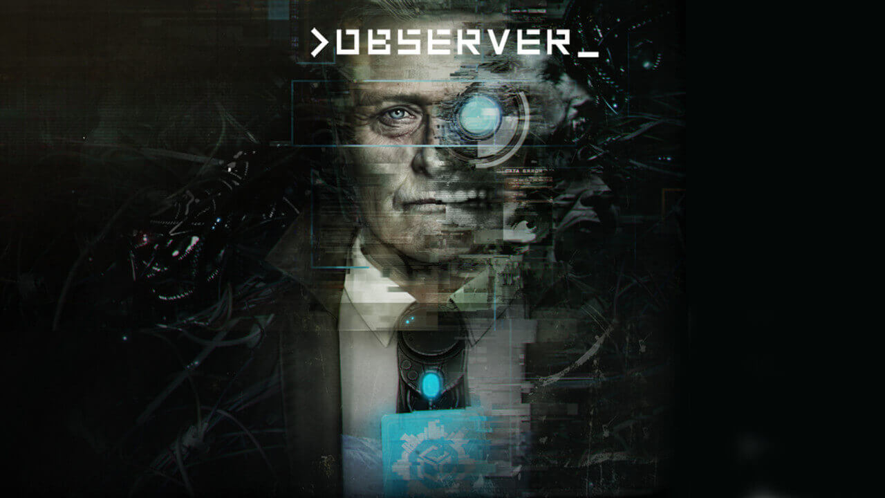 >observer_のボックスアート。