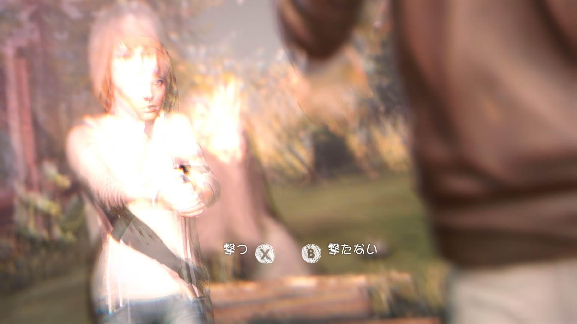 プレイヤーの選択が後の展開を左右する。