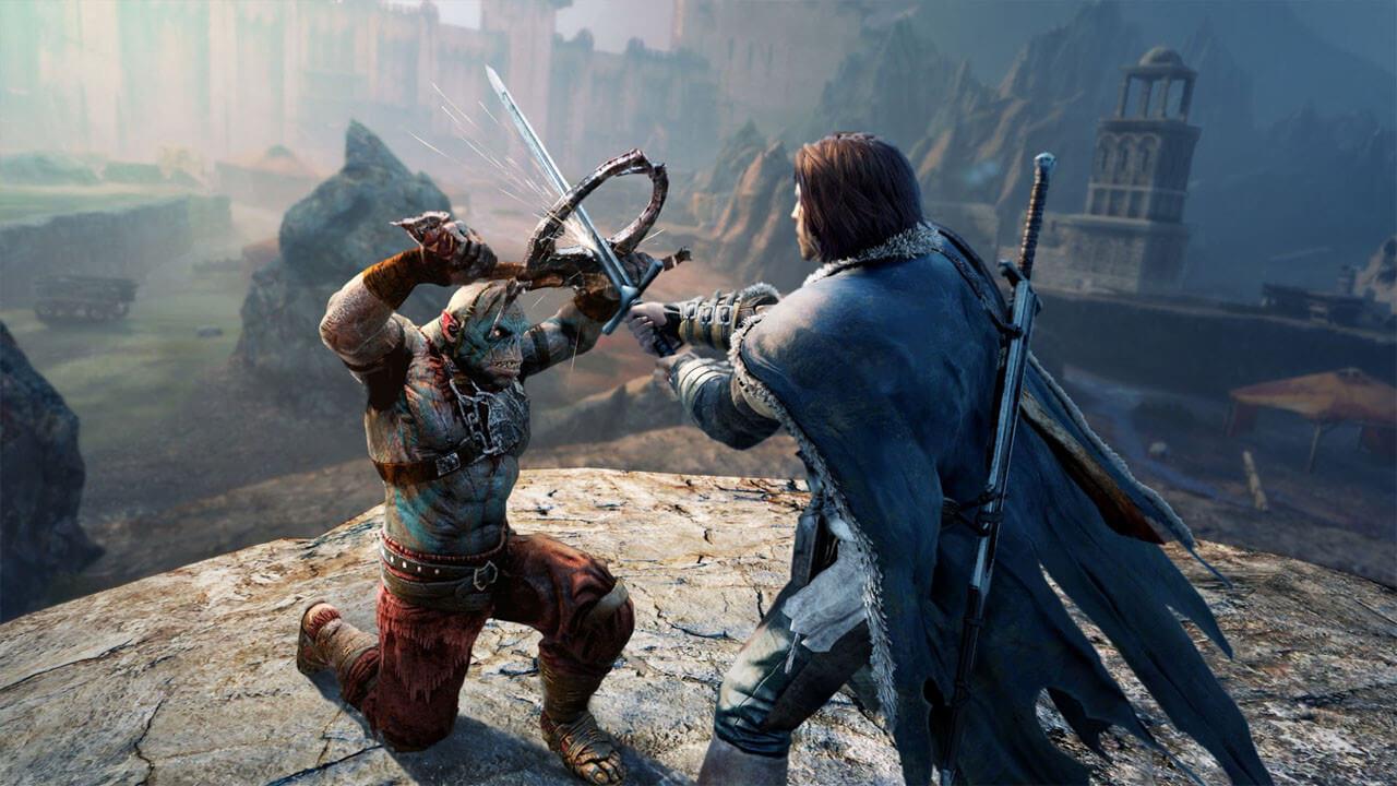 アサシンクリード的な戦闘が特徴。