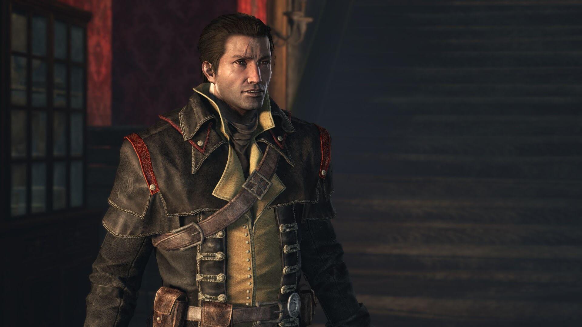 主人公シェイ・コーマック。彼は元アサシンだが、ある事を機にテンプル騎士団に入団するのだった。