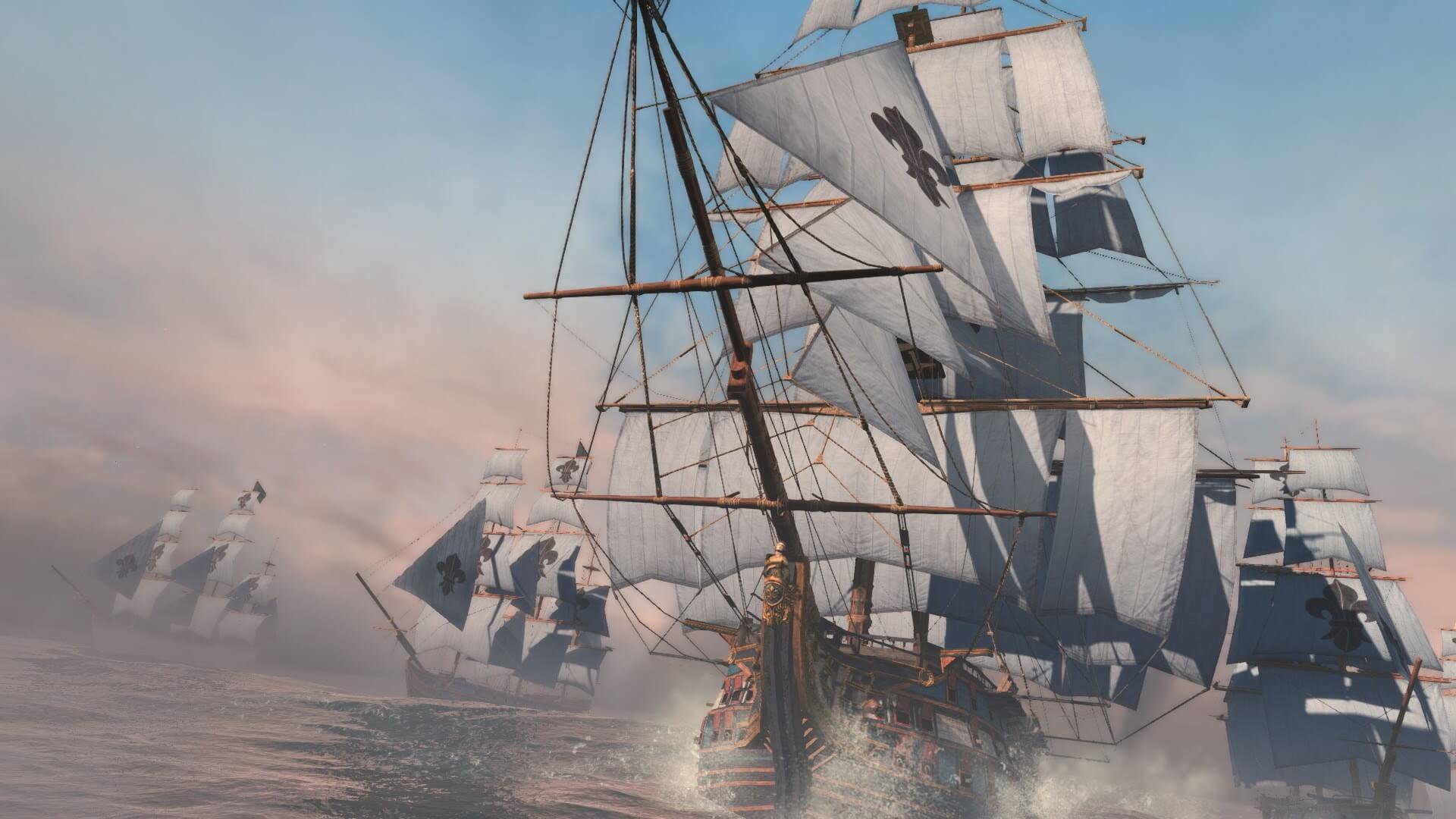 アサクリ4の海戦が再登場。