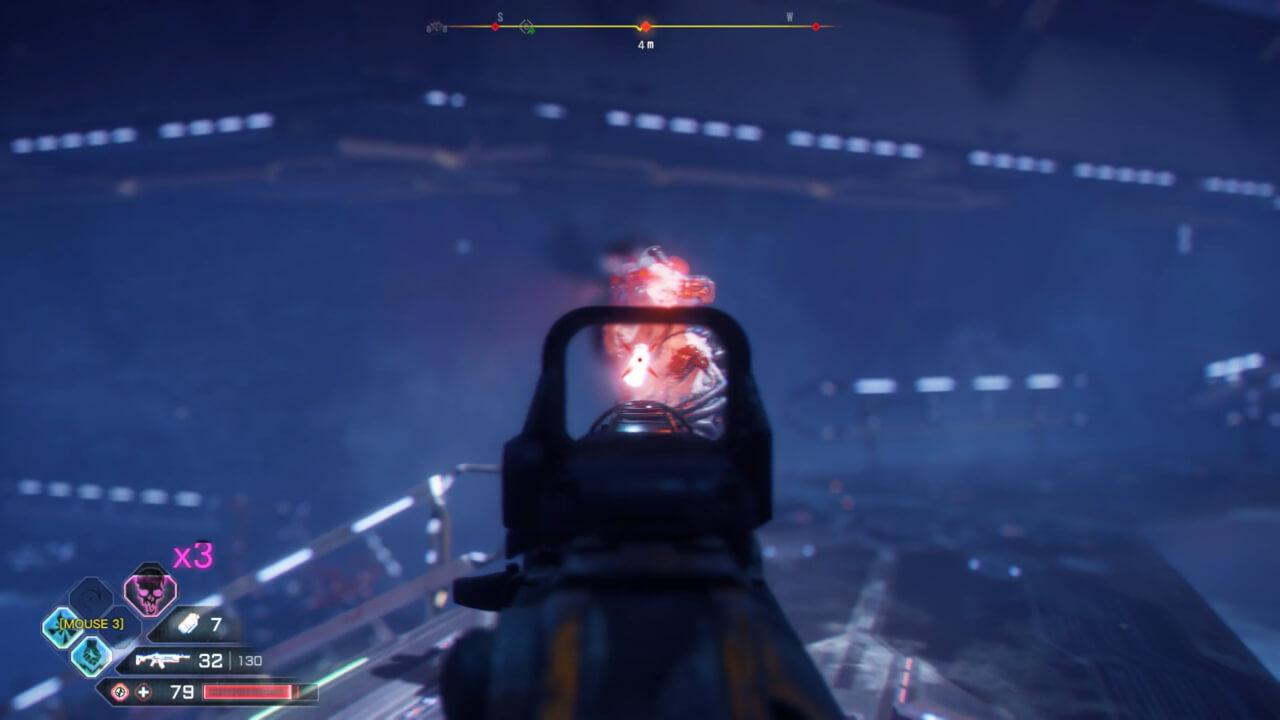 RAGE 2では激しい銃撃戦が展開される。敵は人間以外にもミュータントがいる。